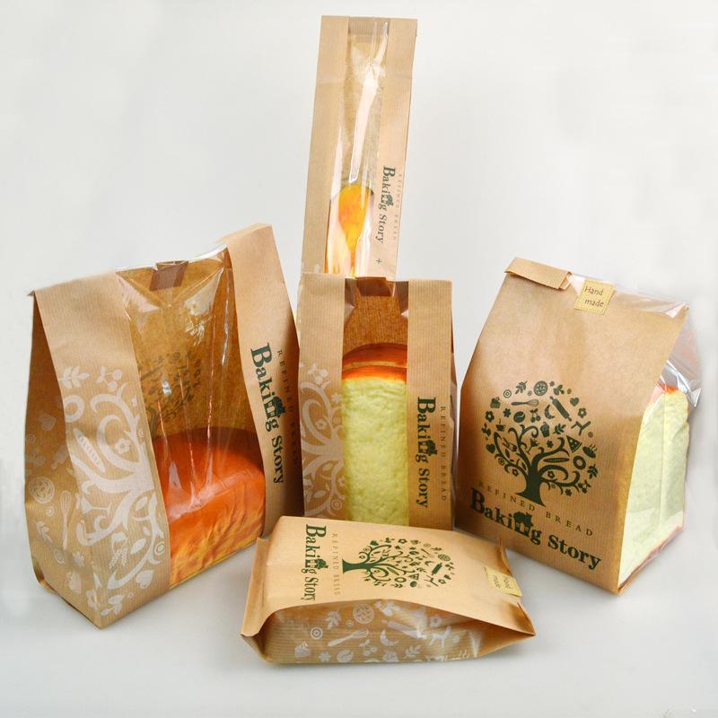 Còn nếu bạn muốn mẫu túi đựng thức ăn nhanh, hãy tham khảo những mẫu túi gói đơn giản dưới đây nhé
