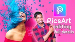 phần mềm cắt ghép ảnh PicsArt